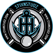 Stix n Studz's logo, prominently displaying an anchor.